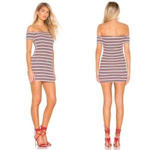 Lovers + Friends Off Shoulder Mini Dress NWT